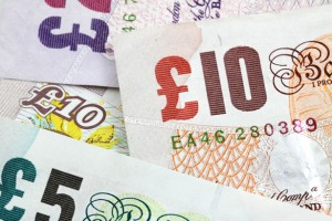 Picture of British Currency