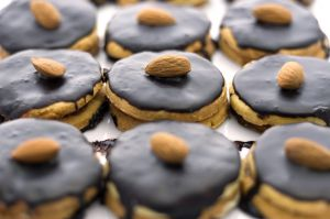 Image of cookies (chocolate - look delicious)