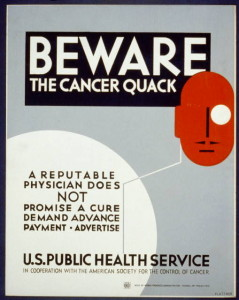 Source: http://commons.wikimedia.org/wiki/File:WPA_quack_poster.jpg