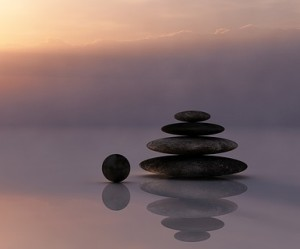 Image of pile of stones that you might want to meditate to