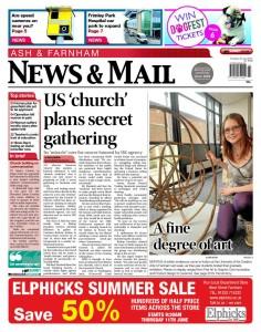Ash & Farnham News & Mail, 4th June 2015