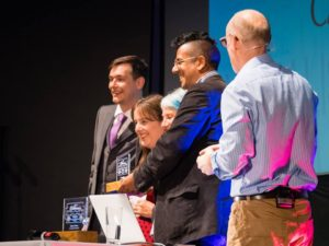 Good Thinking receive an Ockham Award (Photo Credit: Rob McDermott)