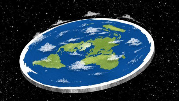 Znalezione obrazy dla zapytania flat earth